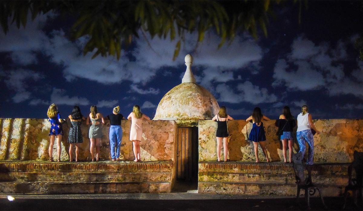 Nursing students in Puerto Rico